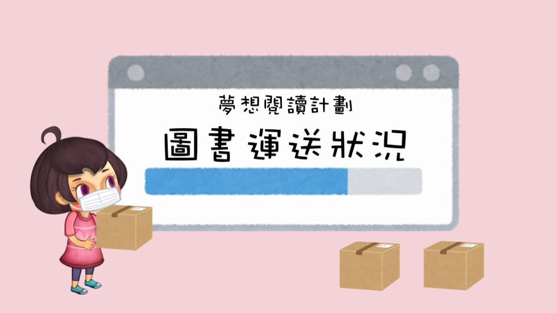 夢想閱讀計劃-圖書運送狀況(6/4-9/4)