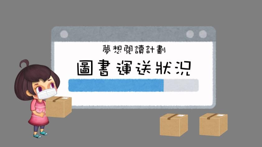 夢想閱讀計劃-圖書運送狀況(15/6-19/6)
